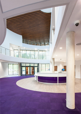 Cauldwell Centre of Excellence interior