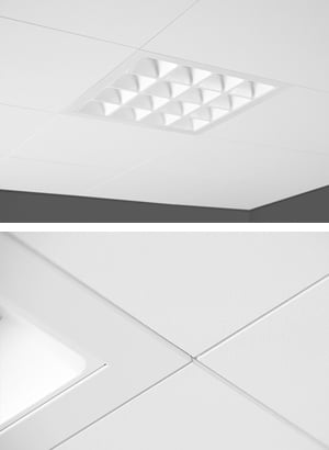 Ecophon Focus™ Ds  +  PowerBalance recessed Gen2 by Philips