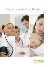 Brochure: Impact of noise in healthcare