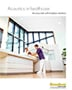 Brochure cover: Acoustics in healthcare