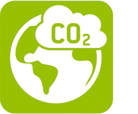 Environmental footprint icon