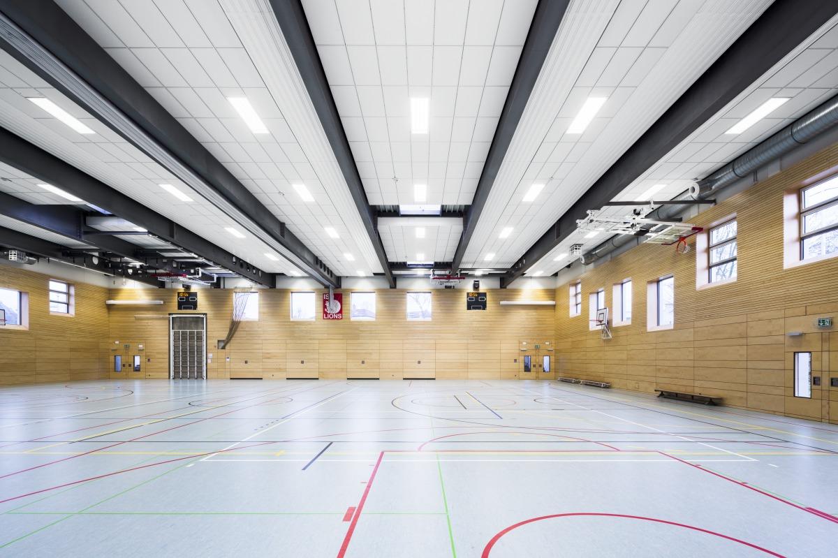 International school of d sseldorf sportshall for Architekturburo dusseldorf