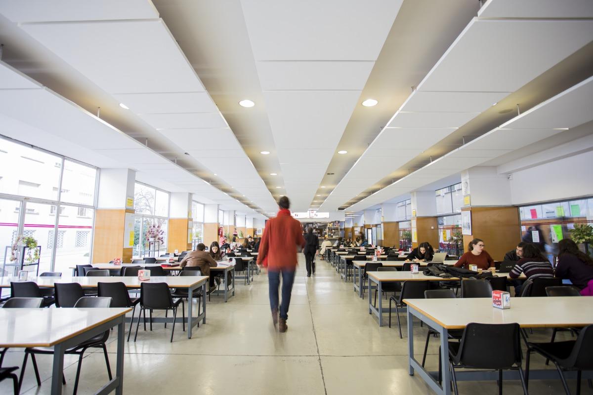 Architettura A Madrid etsam mensa del collegio di architettura a madrid