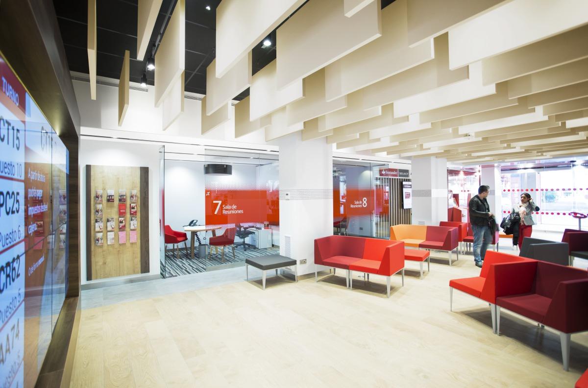 Santander bank office for Oficina santander madrid